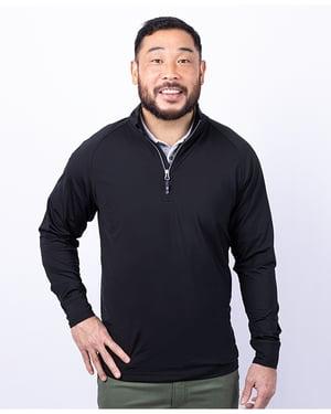 Men's Adapt Eco Quarter-zip Pullover