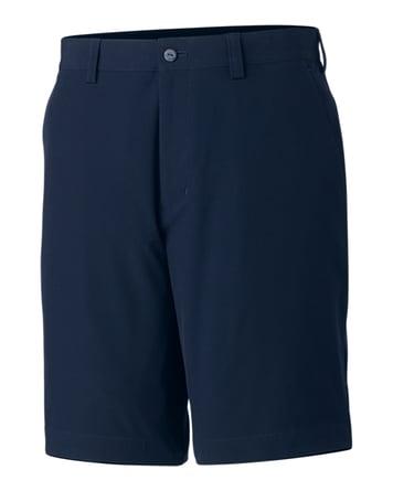 Cutter & Buck Bainbridge Flat Front Short in Navy Blue