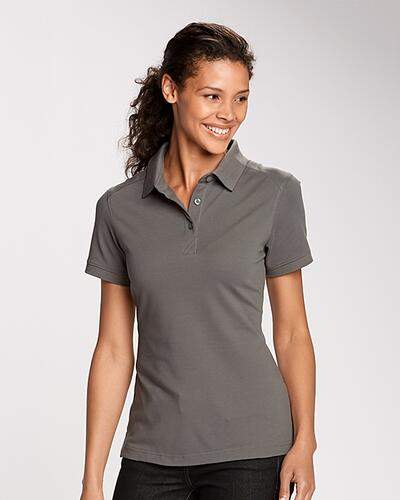 Woman with her hair up wearing a Cutter & Buck Ladies Advantage Polo | 10 Best Polo Shirts for Women