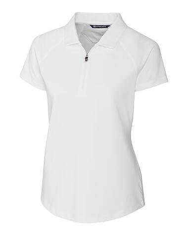 Cutter Buck Womens Forge Polo in White