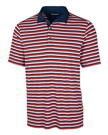 Cutter and Buck Forge Polo Multi Stripe