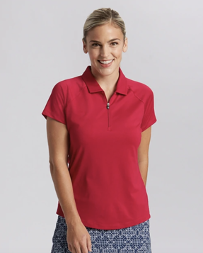 Cutter and Buck Ladies' Forge Polo in Cardnial Red