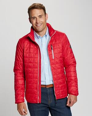 Cutter and Buck Big and Tall Rainier Jacket in Red