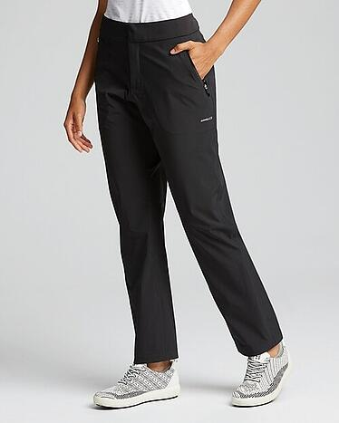 Cutter and Buck Annika Monsoon Water Proof Pant in Black.