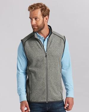 Man wearing Cutter and Buck Men's Mainsail Vest