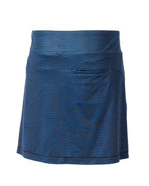 Cutter and Buck Ladies Wave Print Pull On Skort